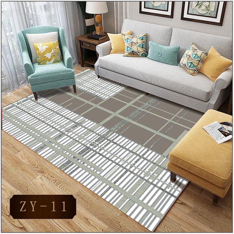 Striped Living Room Rug
