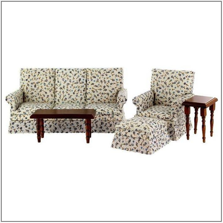 Striped Living Room Sets