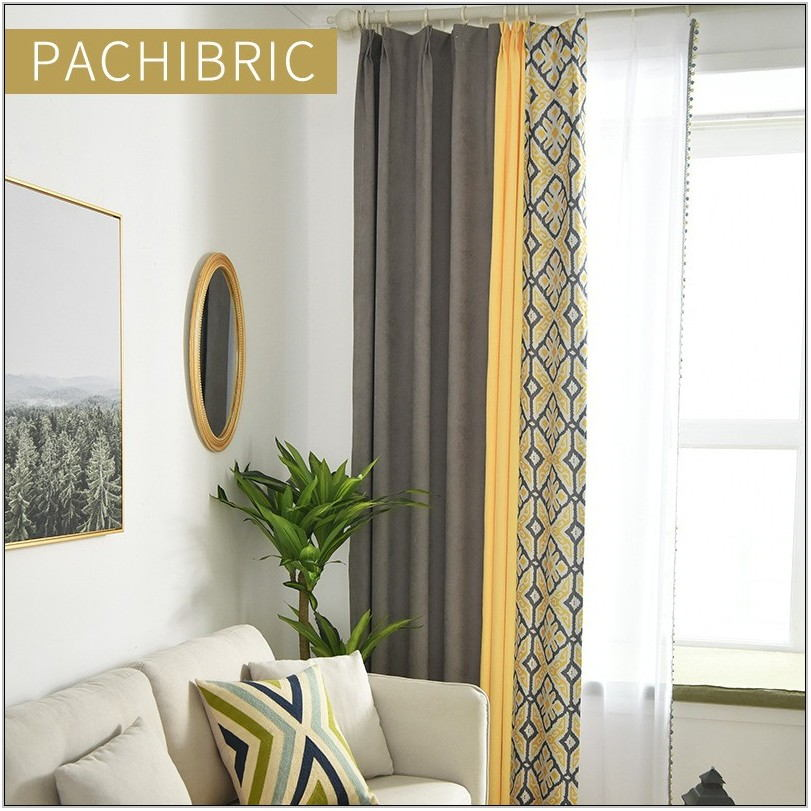 Summer Living Room Curtains