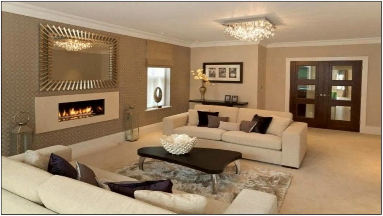 Tan Paint Living Room