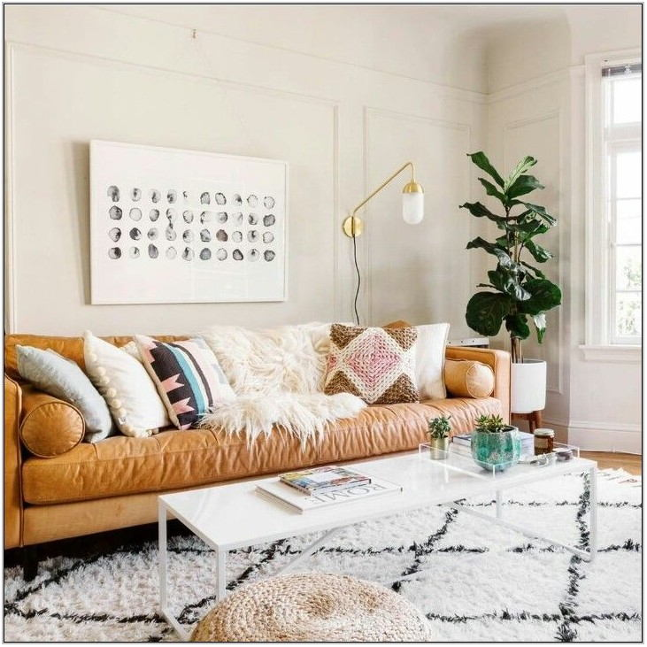 Tan Sofa Living Room