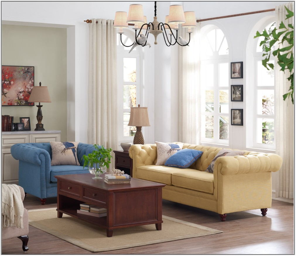 Tapestry Sofa Living Room Furniture