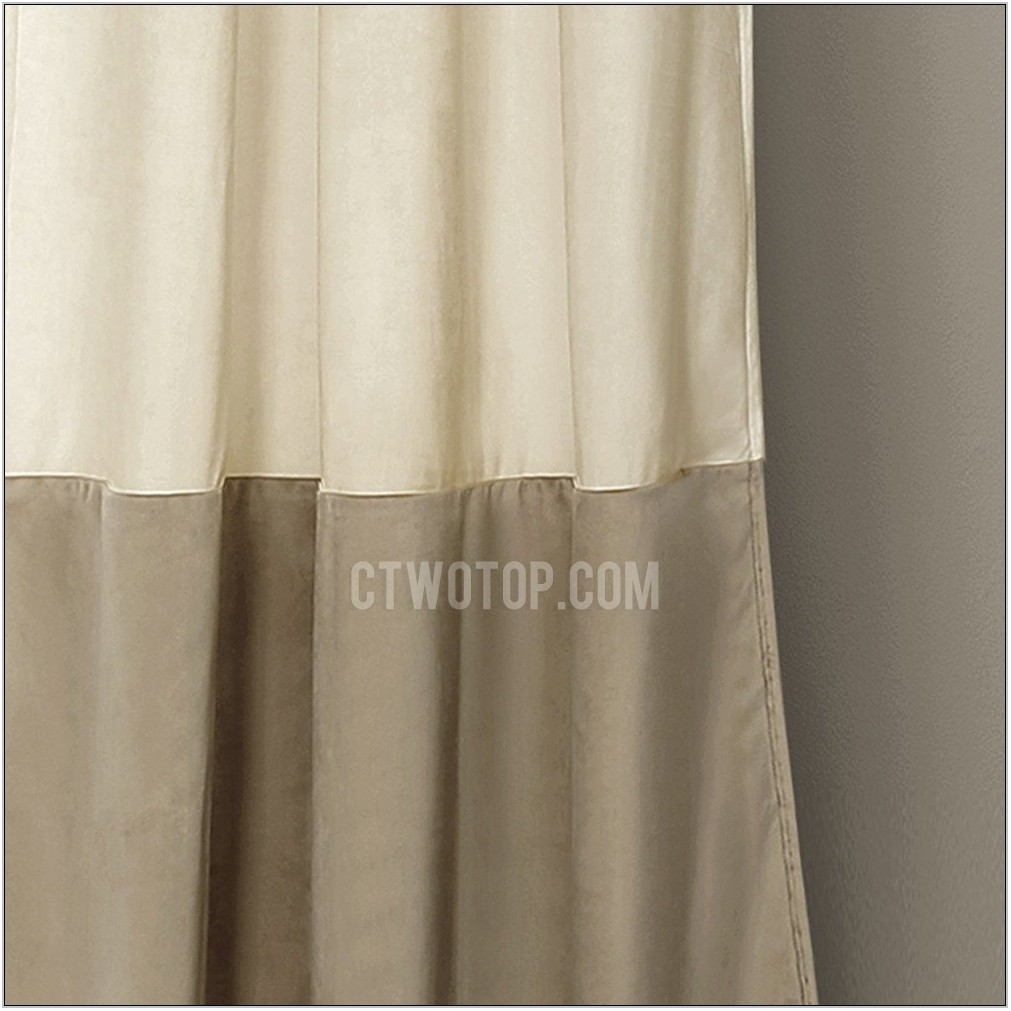 Taupe Curtains Living Room