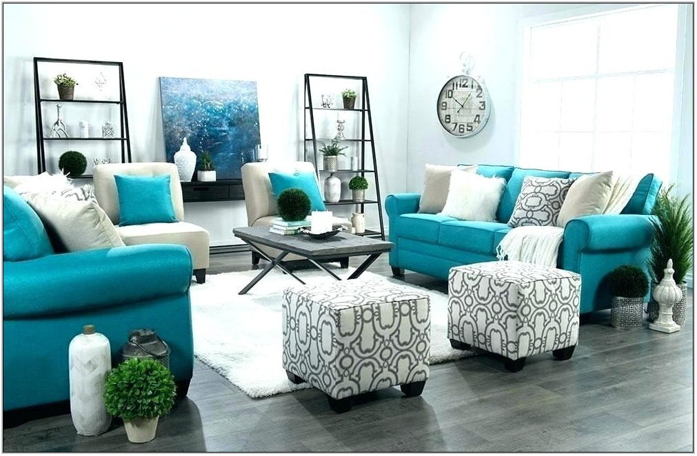 Teal And Grey Living Room Ideas