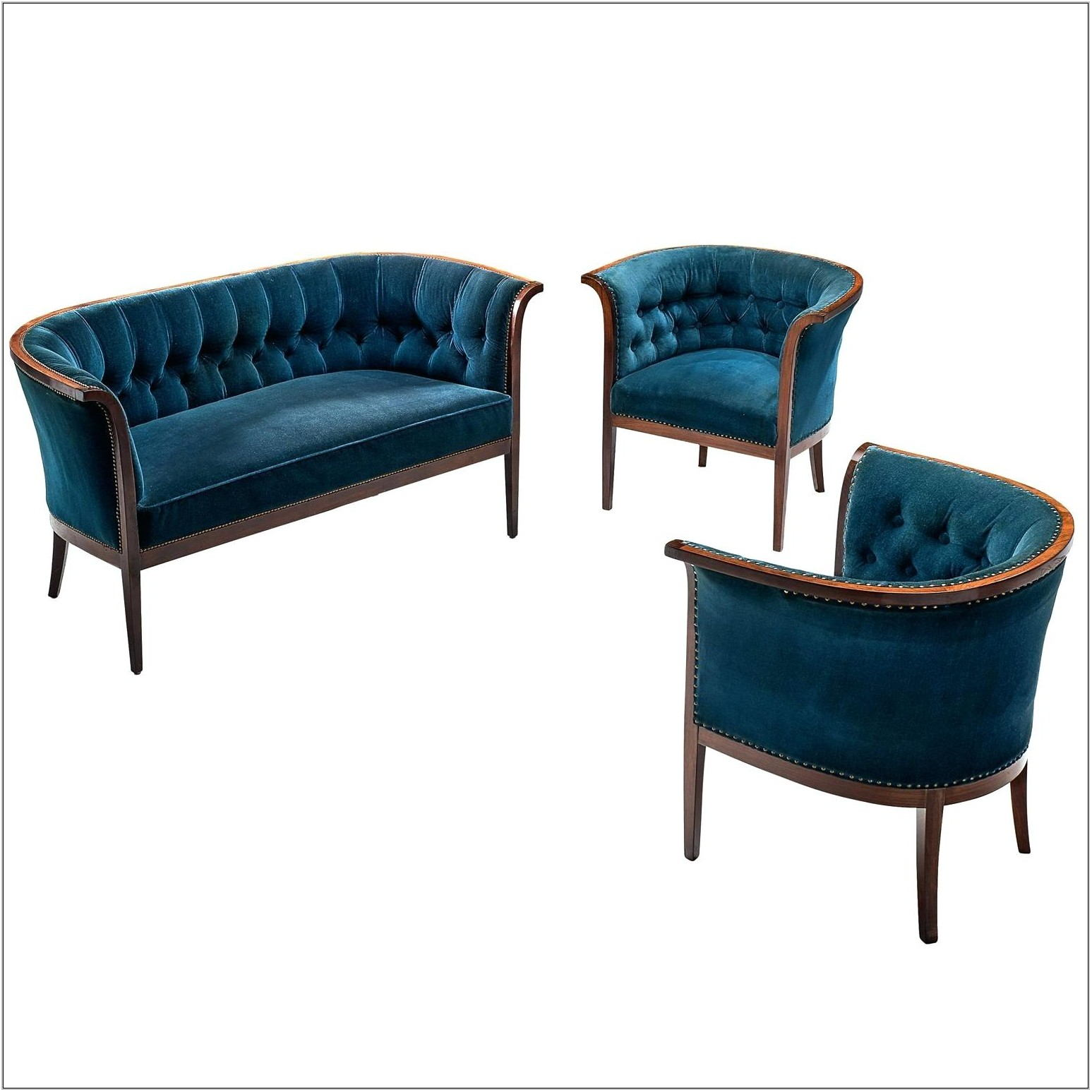 Teal Chairs For Living Room