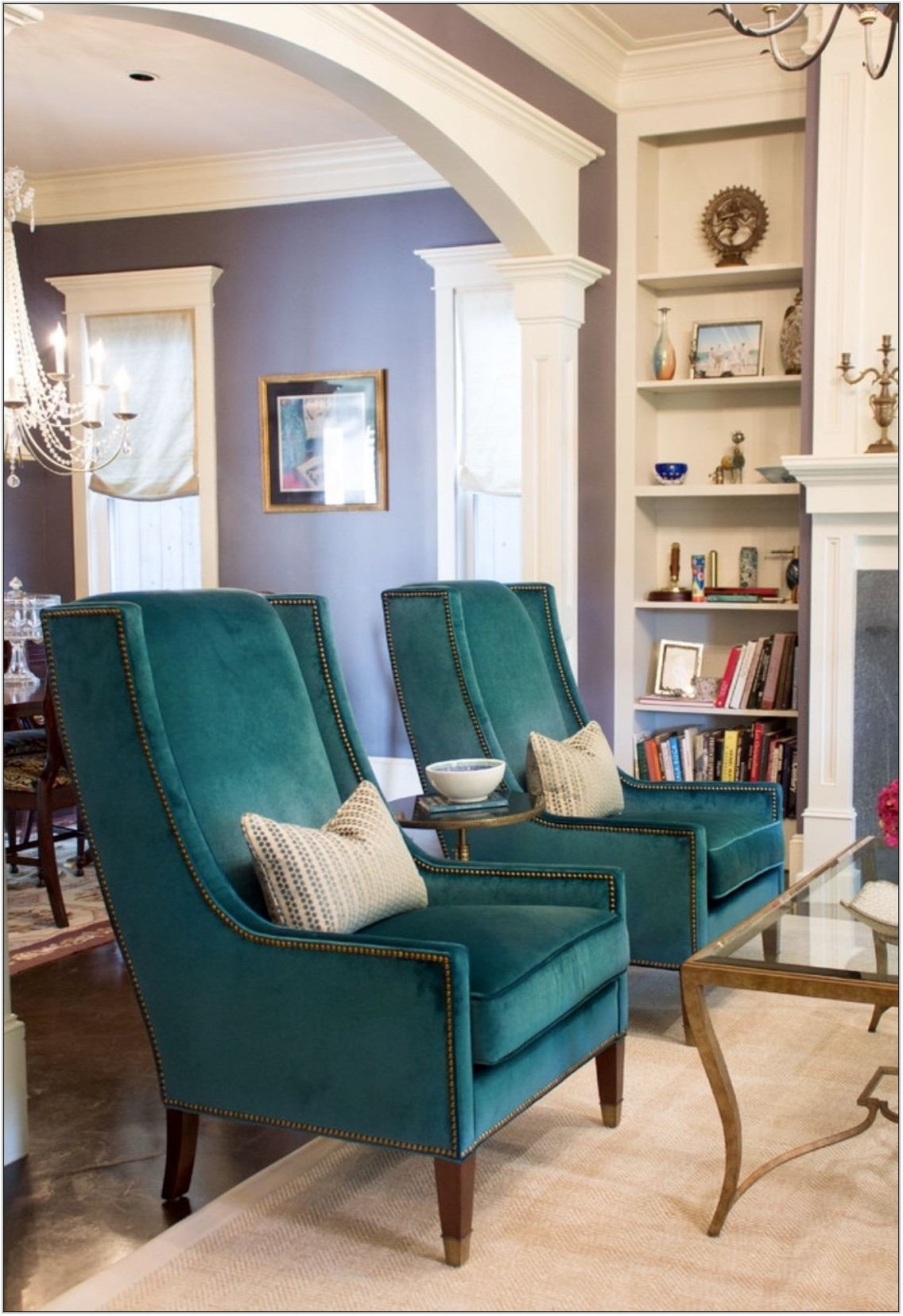 Teal Sofa Living Room Decor