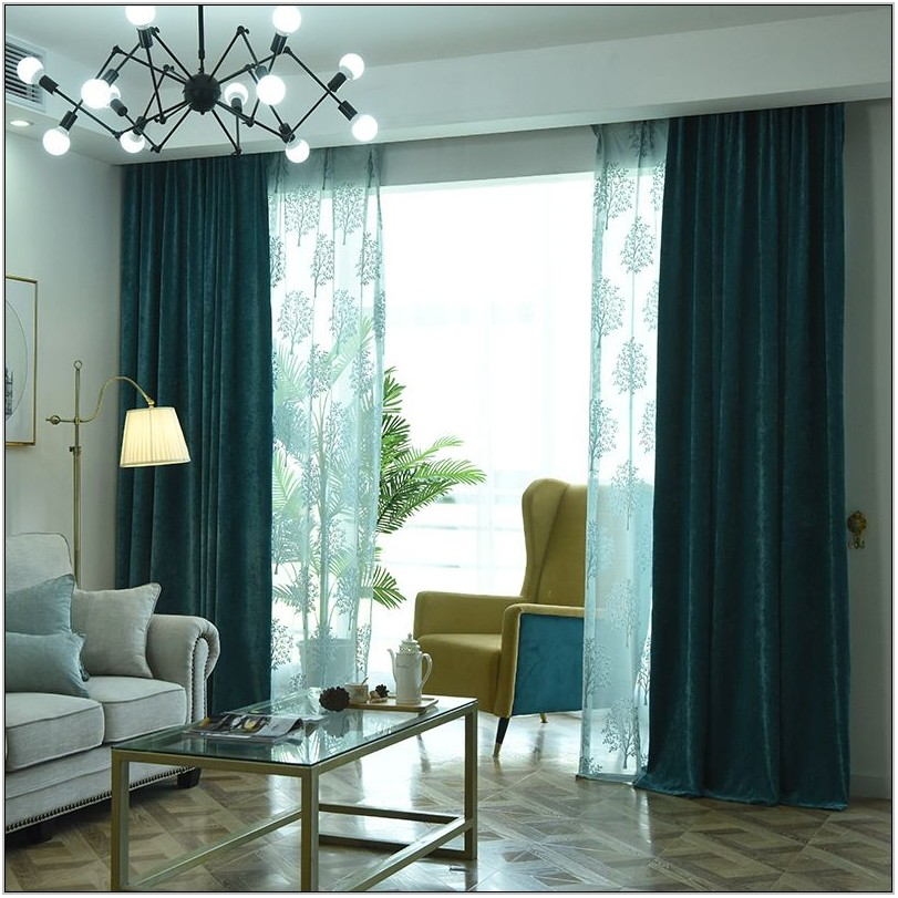 Thick Curtains For Living Room