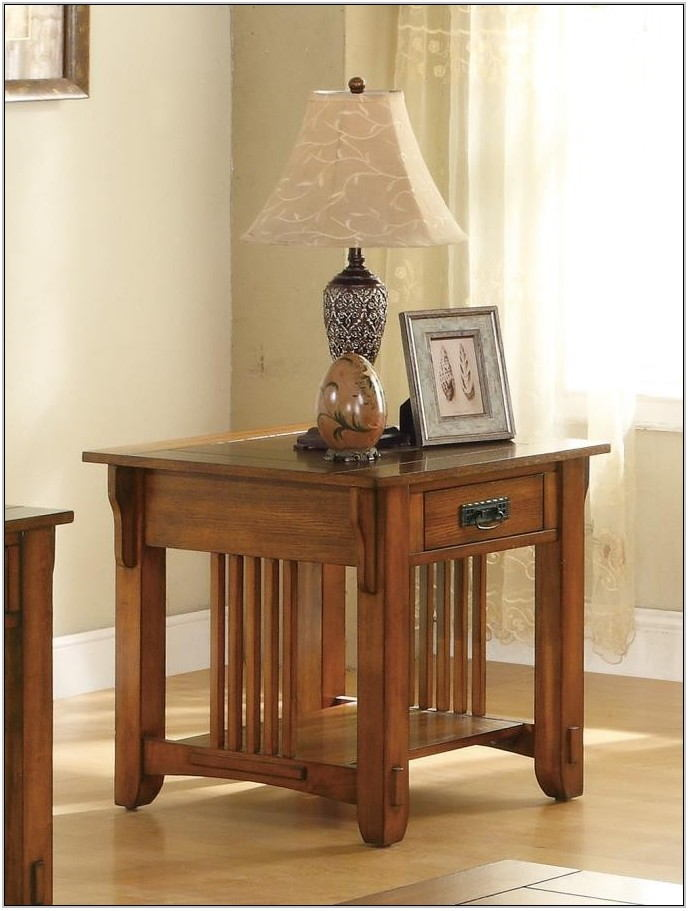 Traditional End Tables Living Room