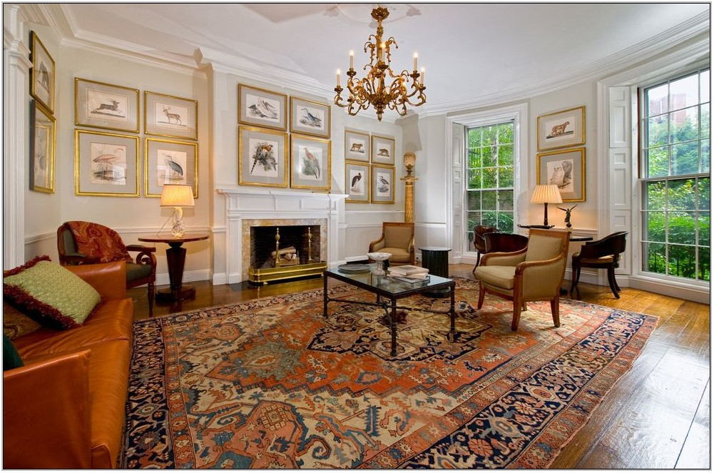 Traditional Living Rooms With Oriental Rugs