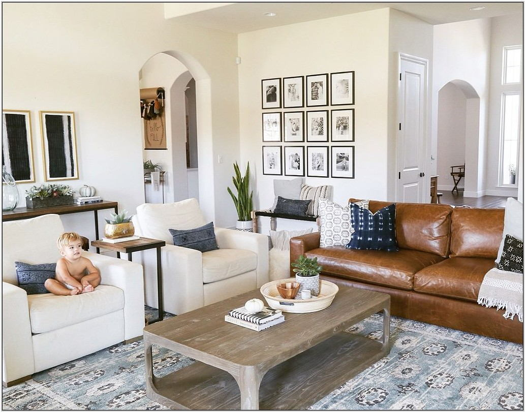 Transitional Living Room Decor