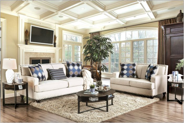 Transitional Living Room Set