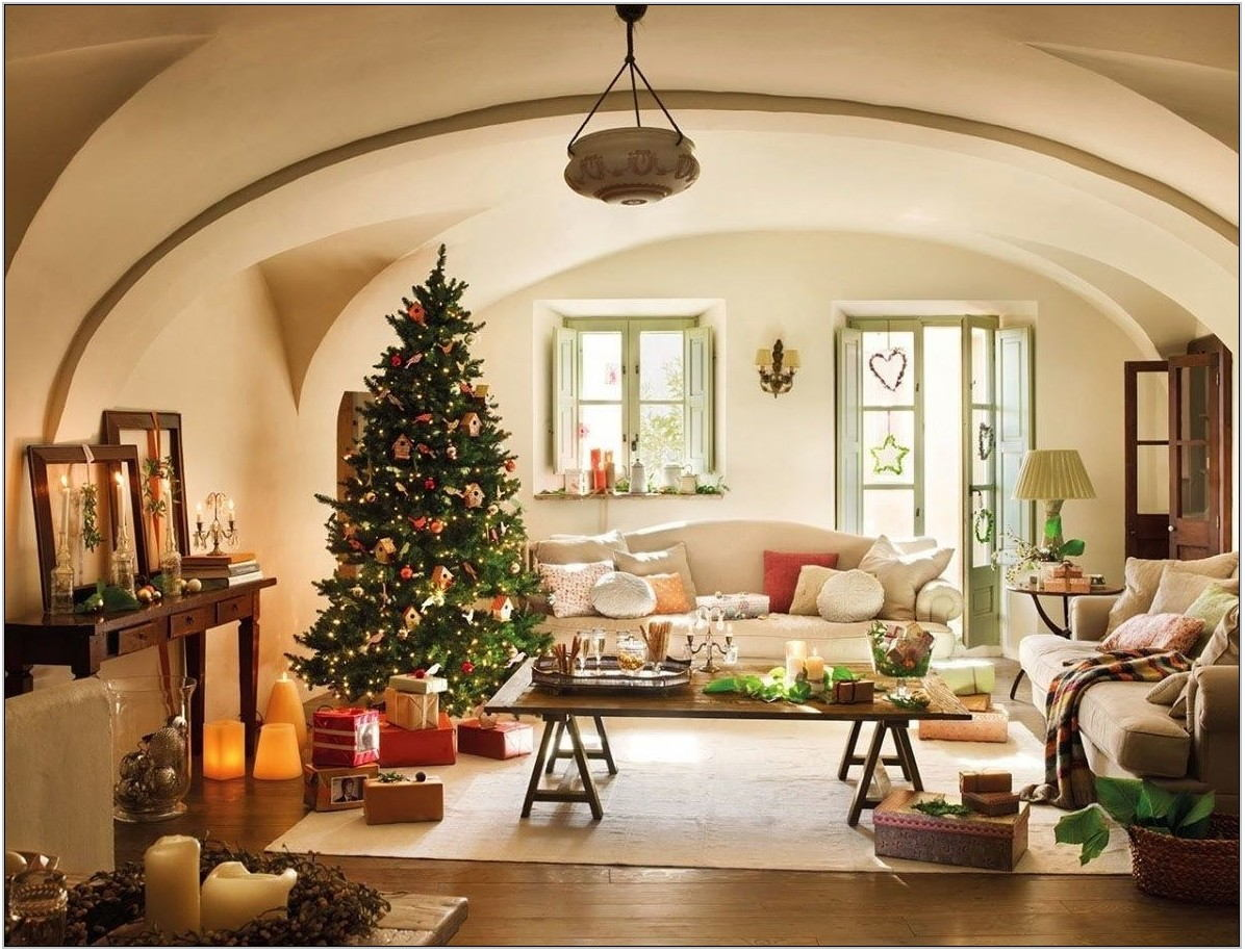 Tree Decor For Living Room
