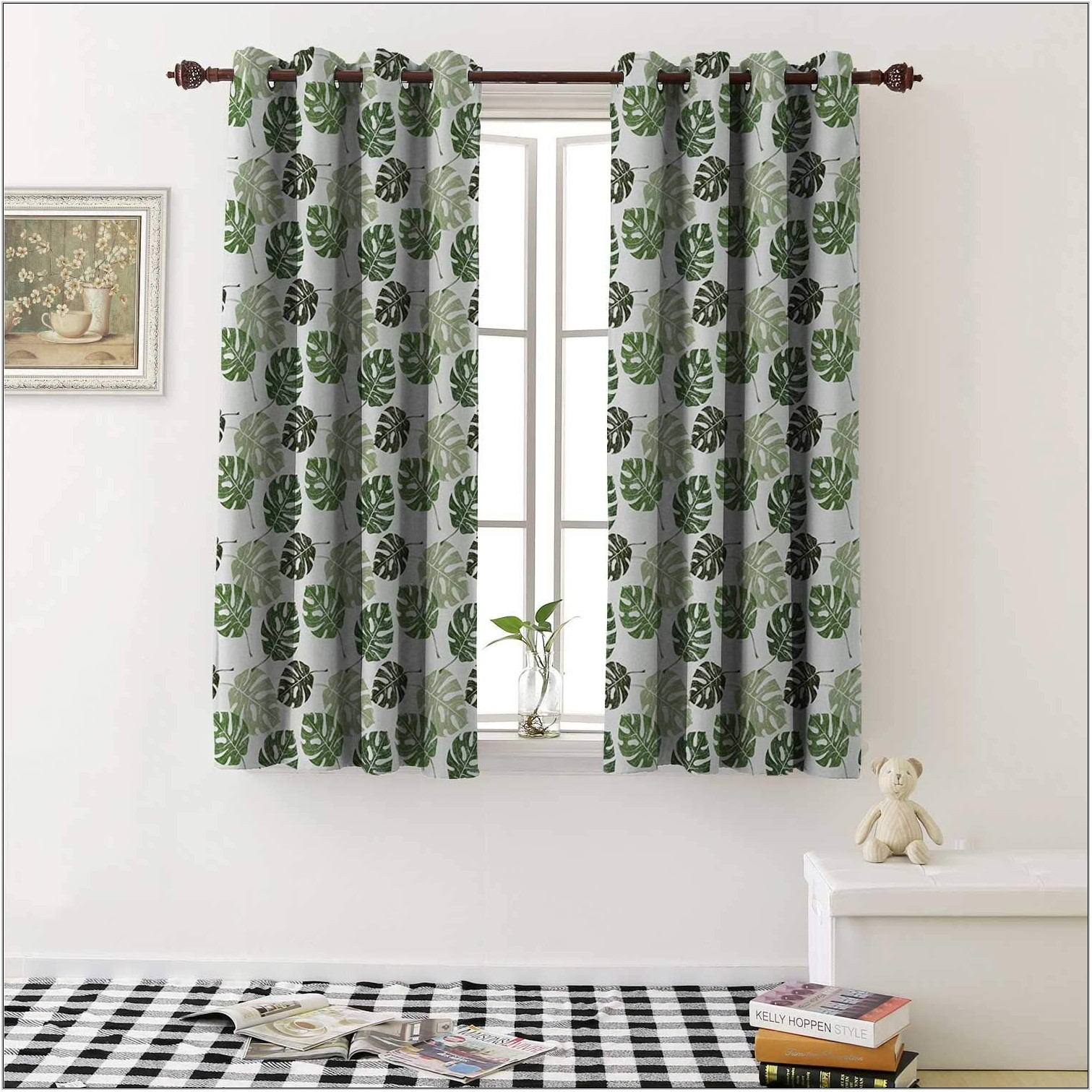 Tropical Curtains For Living Room