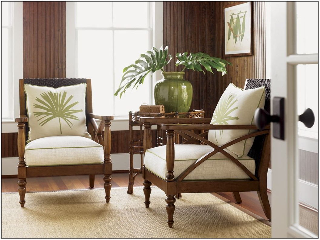 Tropical Living Room Chairs
