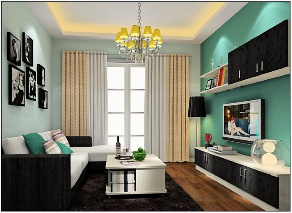 Tropical Paint Colors For Living Room