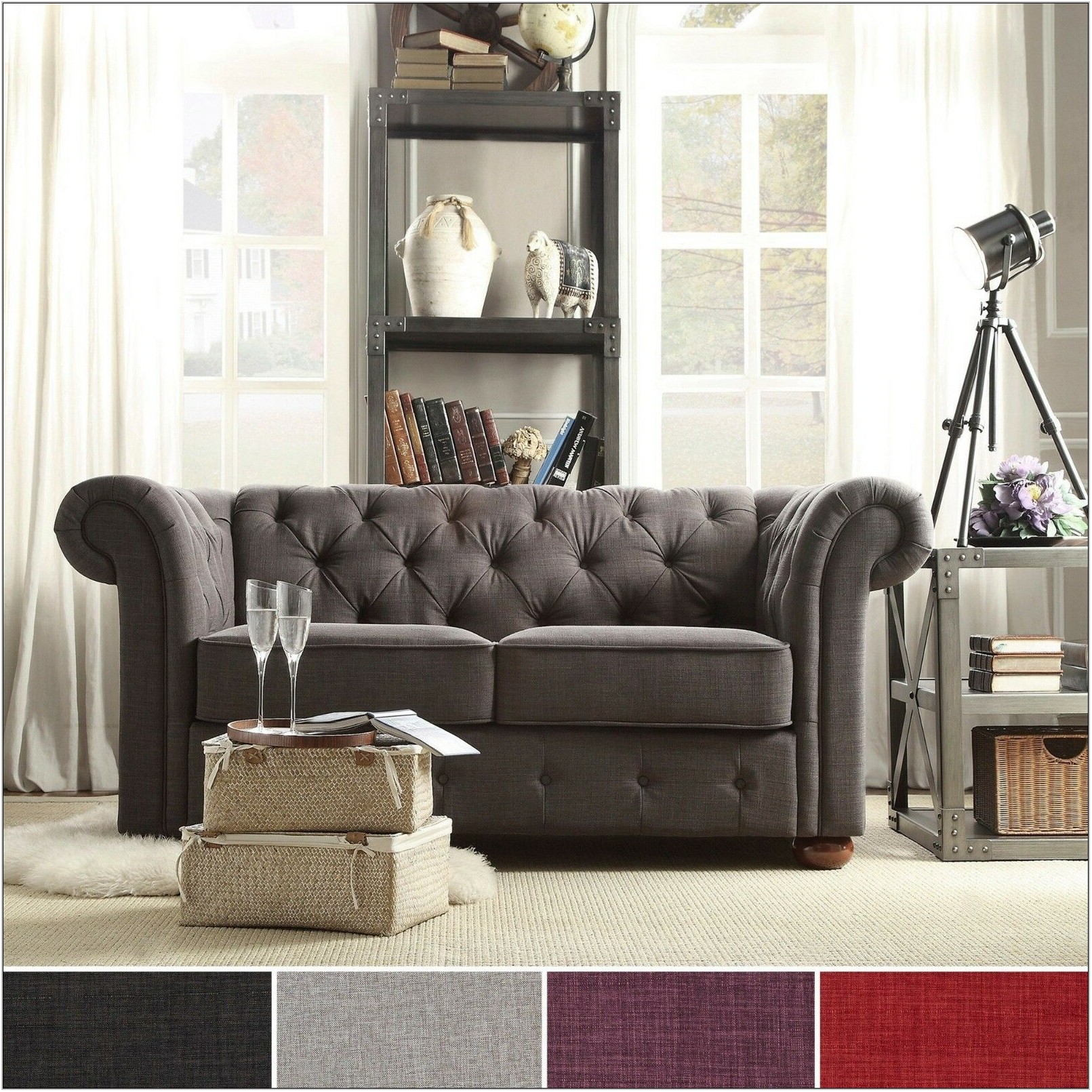 Tufted Living Room Furniture