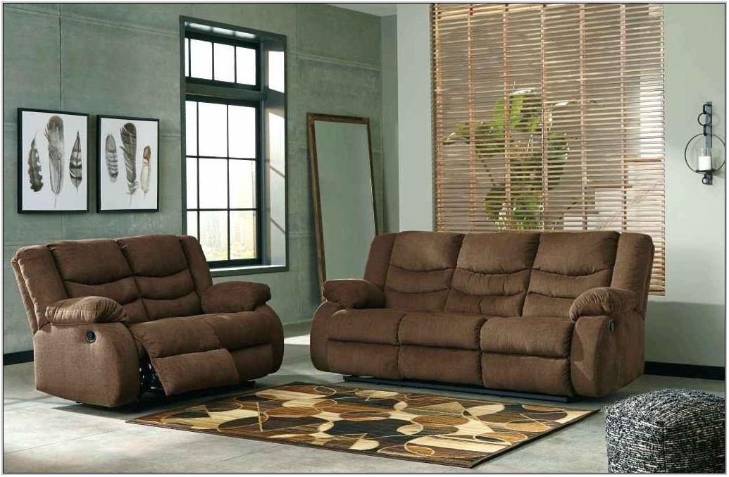 Tulen Gray Reclining Living Room Set