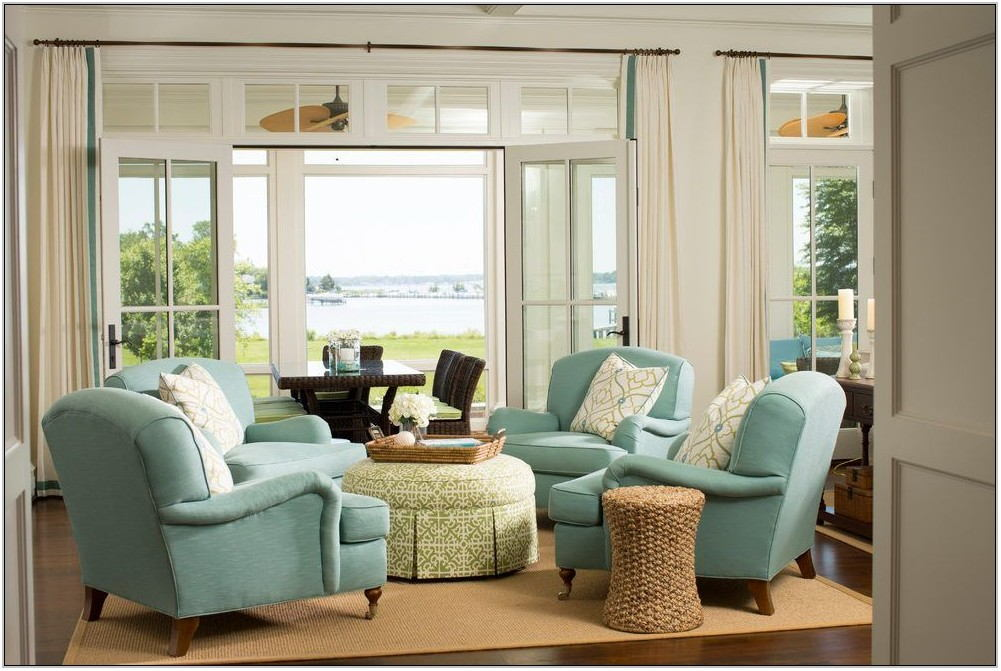 Turquoise Chairs For Living Room