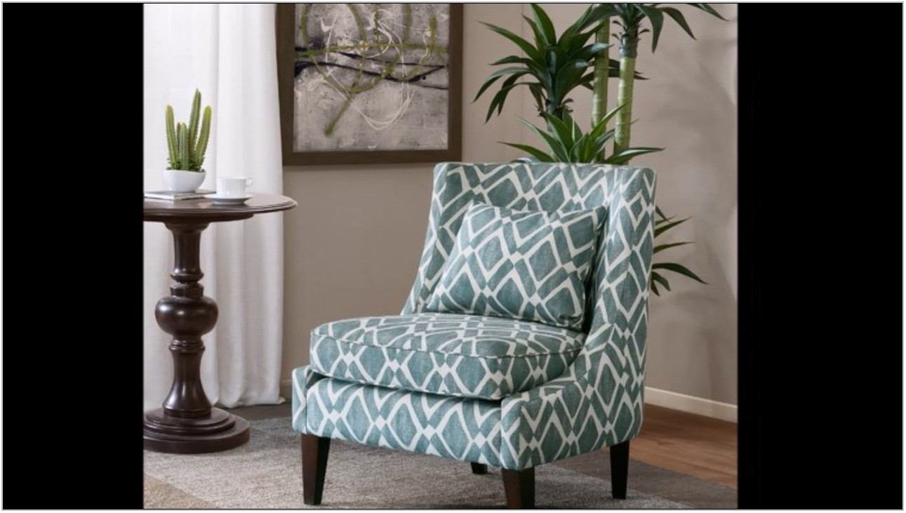 Turquoise Living Room Chair