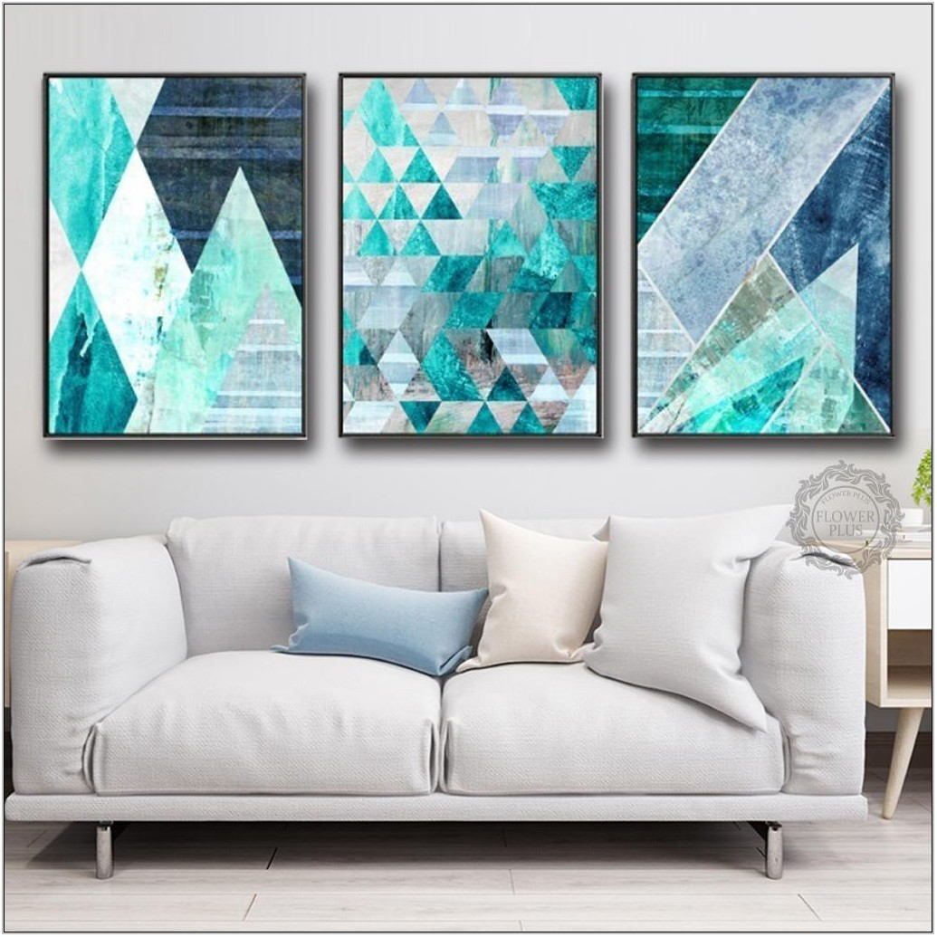 Turquoise Pictures For Living Room