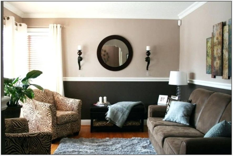 Two Tone Paint Colors For Living Room