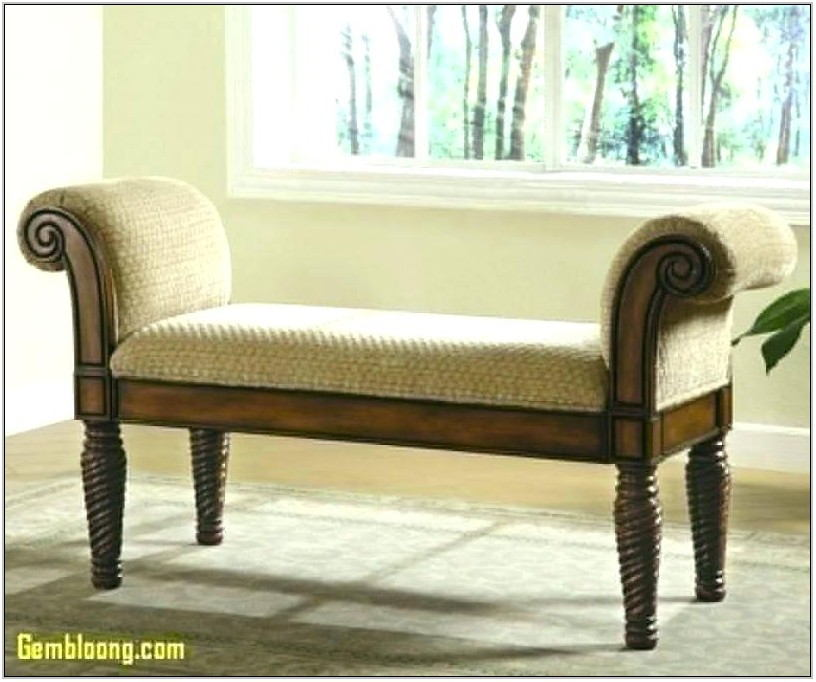Upholstered Bench For Living Room