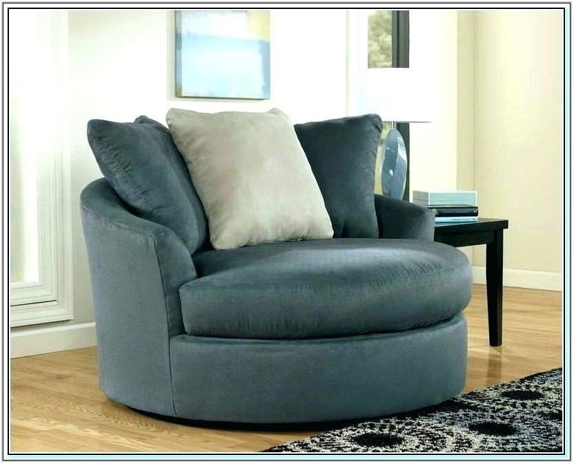 Upholstered Swivel Living Room Chairs