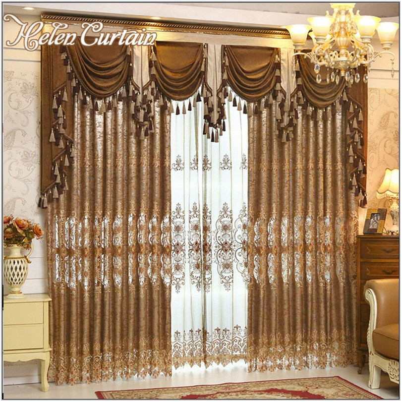 Valance Curtains Living Room