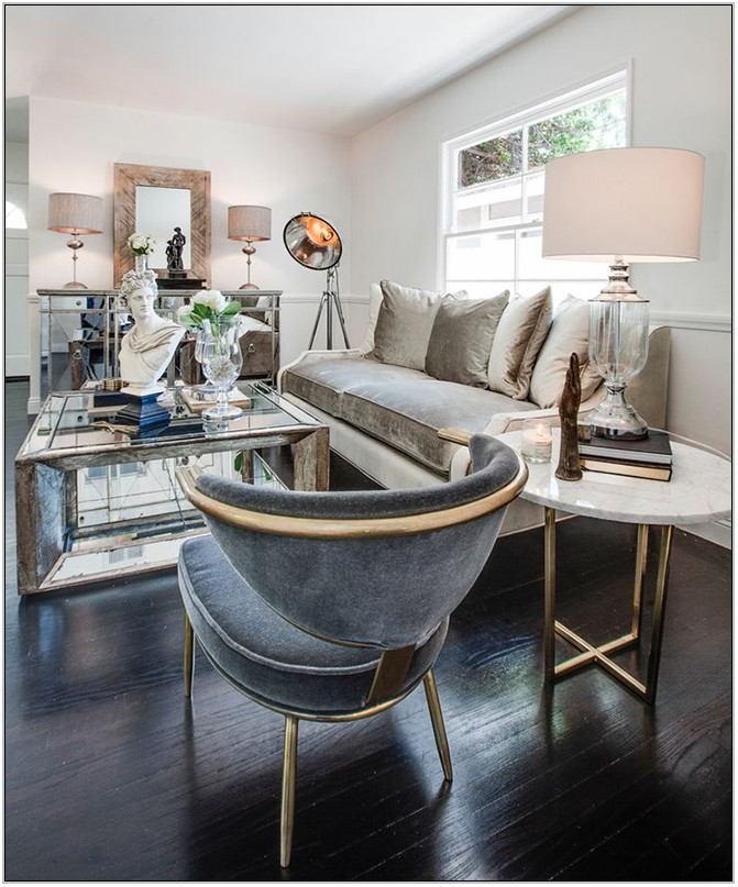 Velvet Living Room Chair