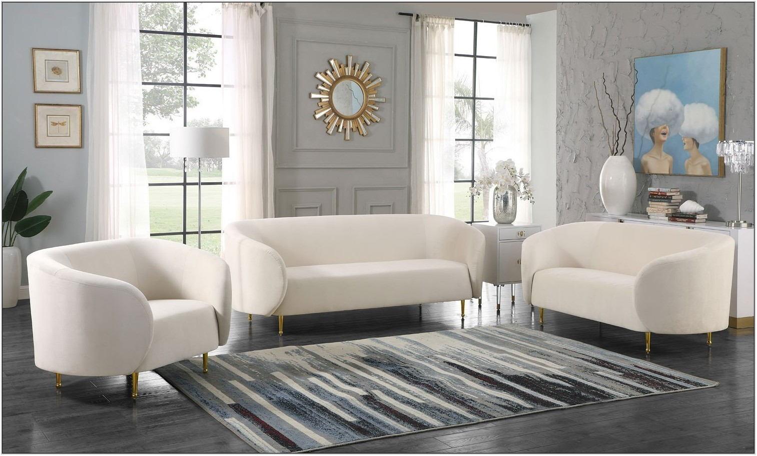 Velvet Living Room Furniture