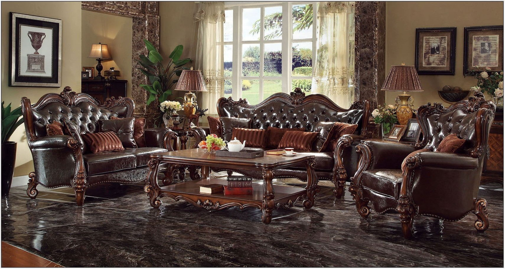 Versailles Living Room Furniture