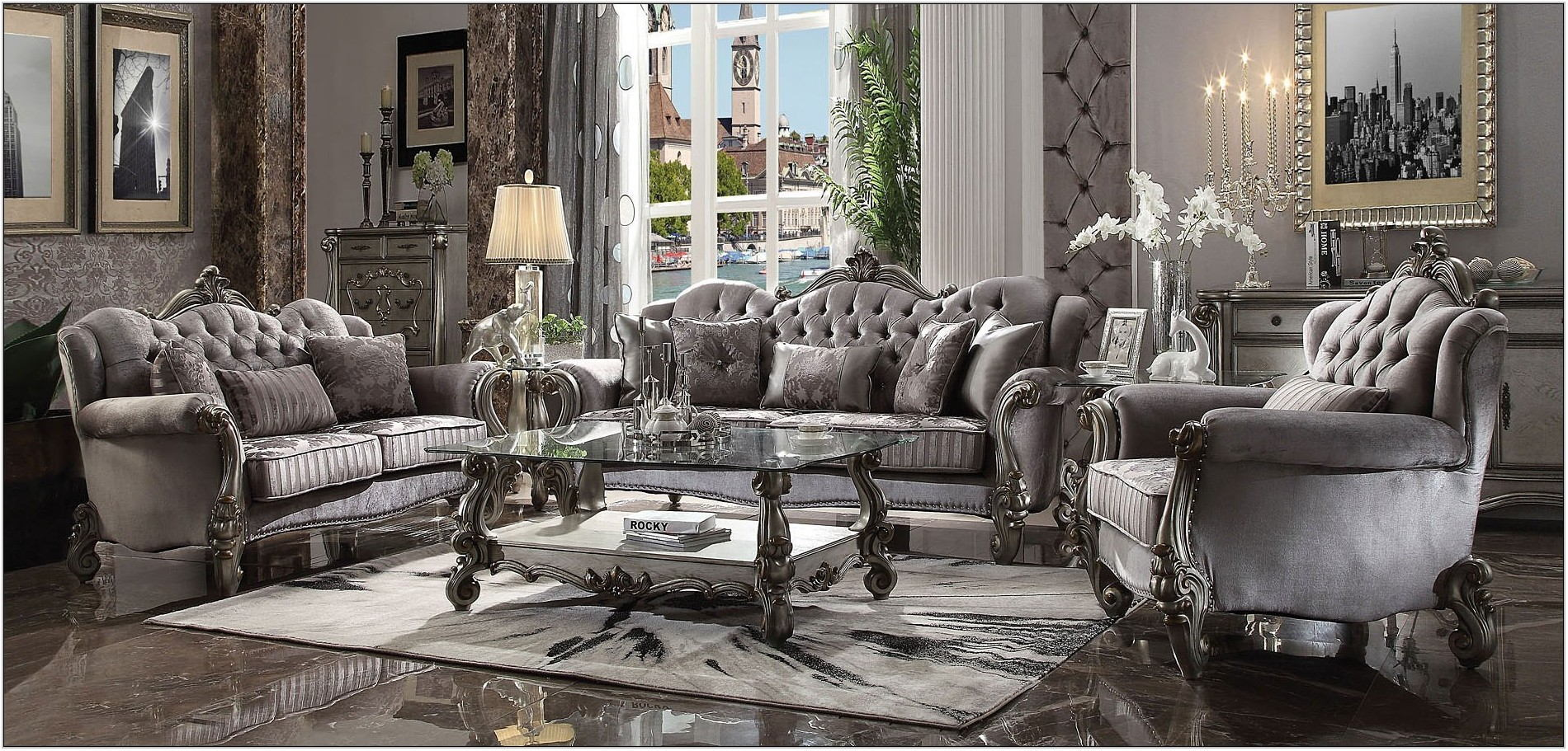 Versailles Living Room Set