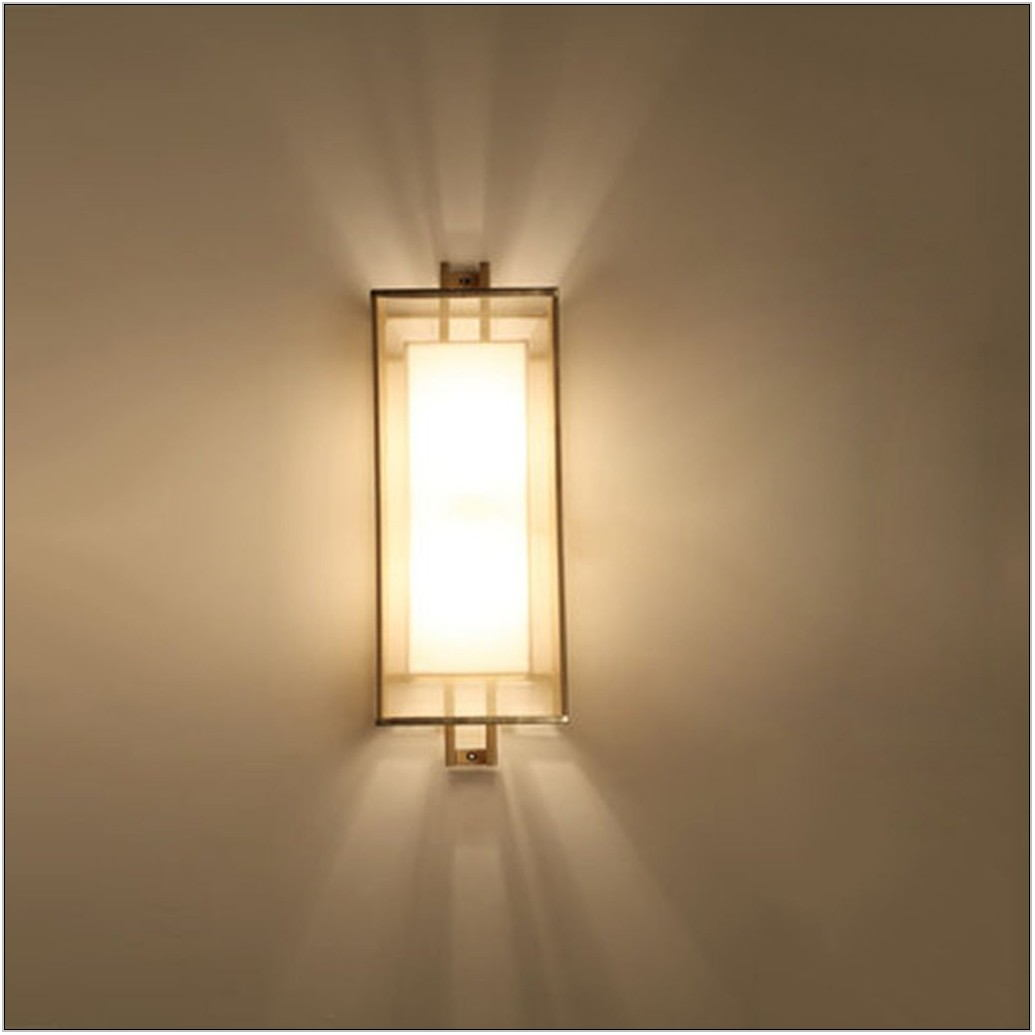 Wall Lamp In Living Room