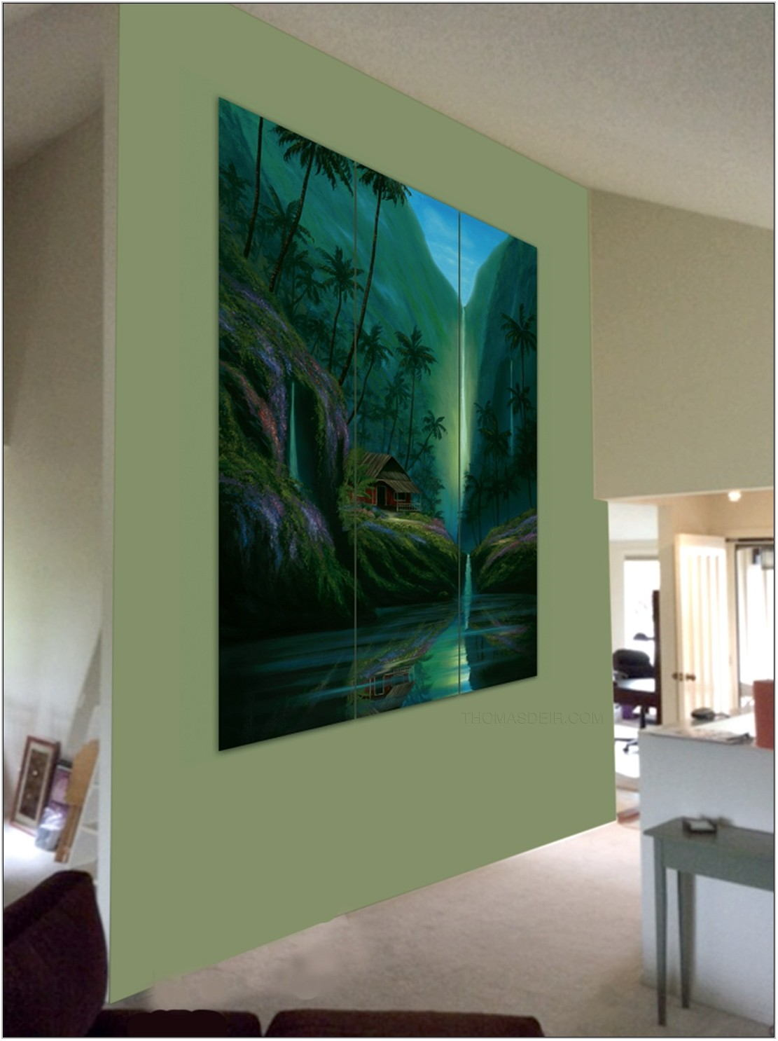 Wall Paintings For Living Room Images