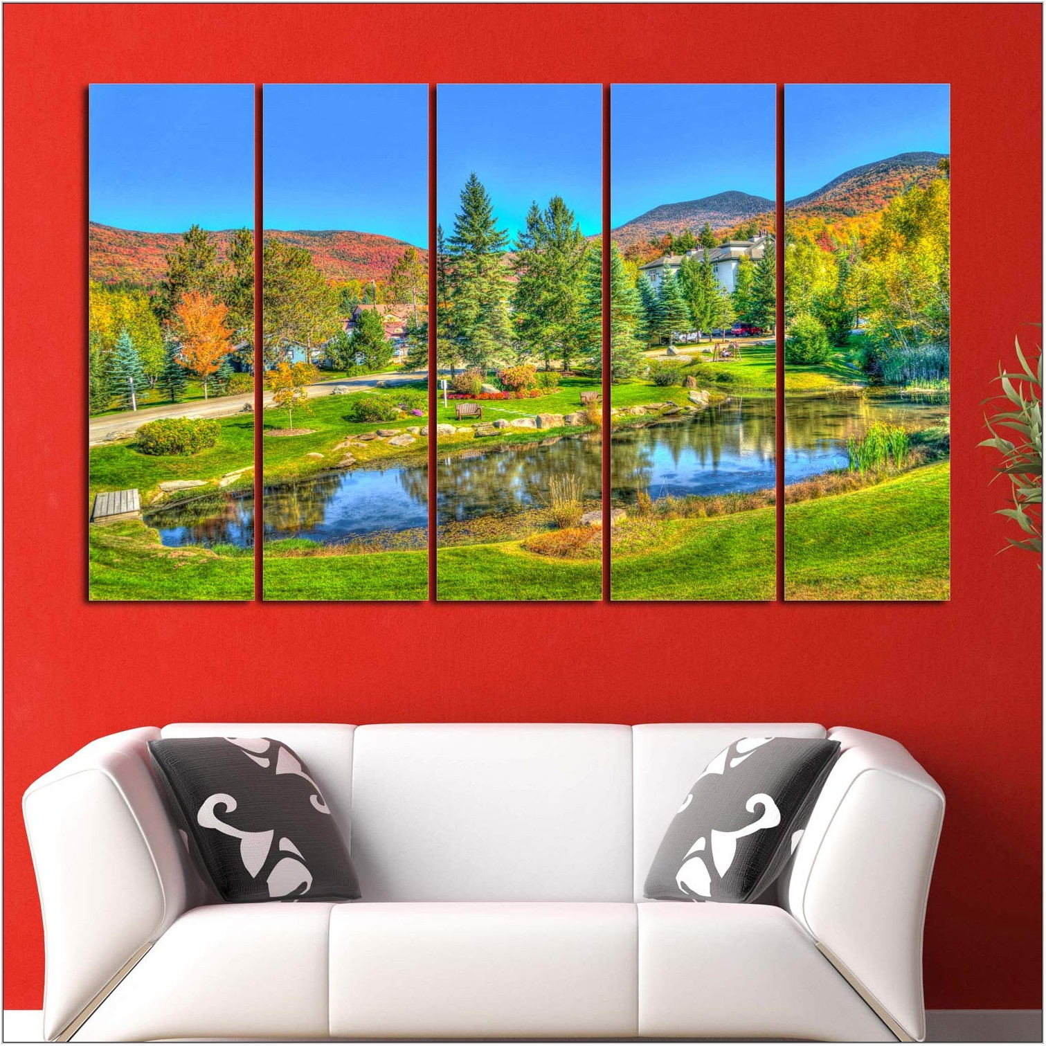 Wall Scenery For Living Room