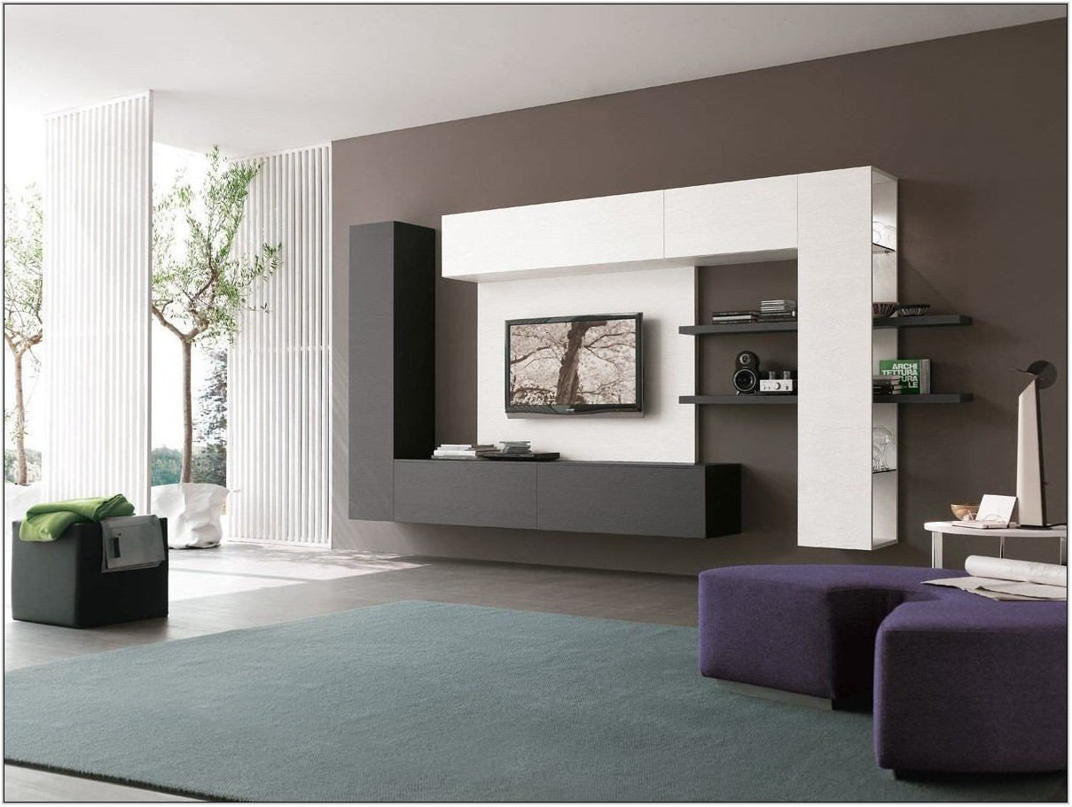 Wall Unit Designs For Living Room