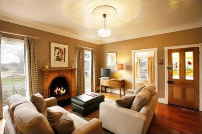 Warm Colors For Living Room Walls