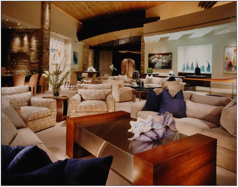 Warm Inviting Living Room Colors