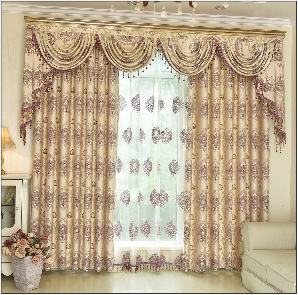 Waterfall Valances For Living Room
