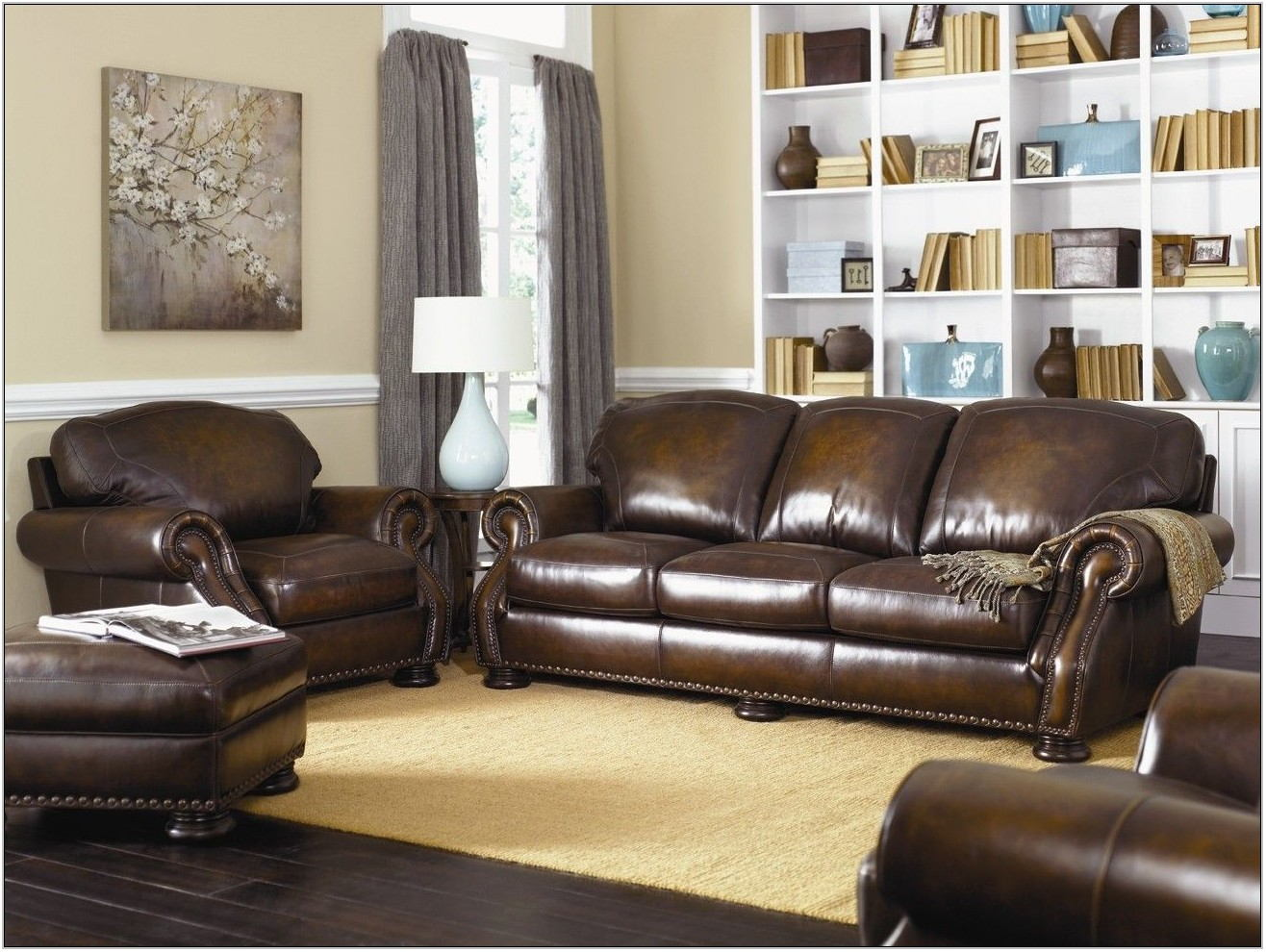 Wayfair Leather Living Room Sets