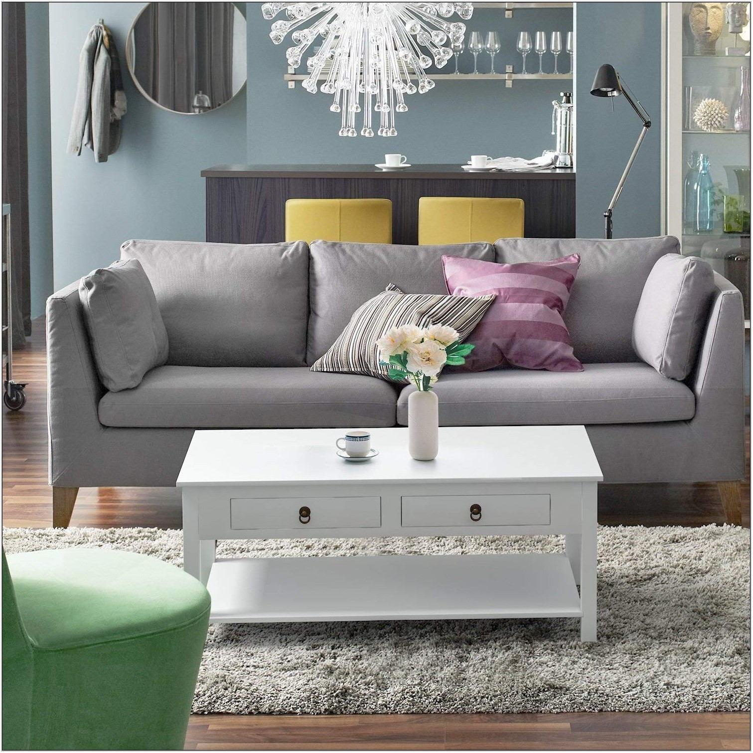 White Center Table For Living Room