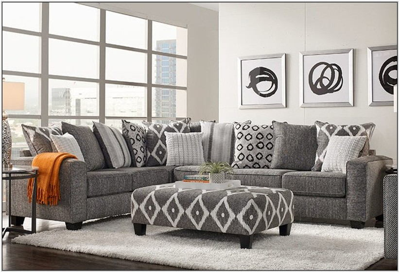 White Formal Living Room Furniture