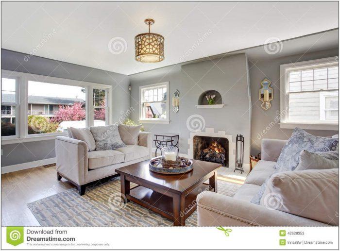 White Light Living Room