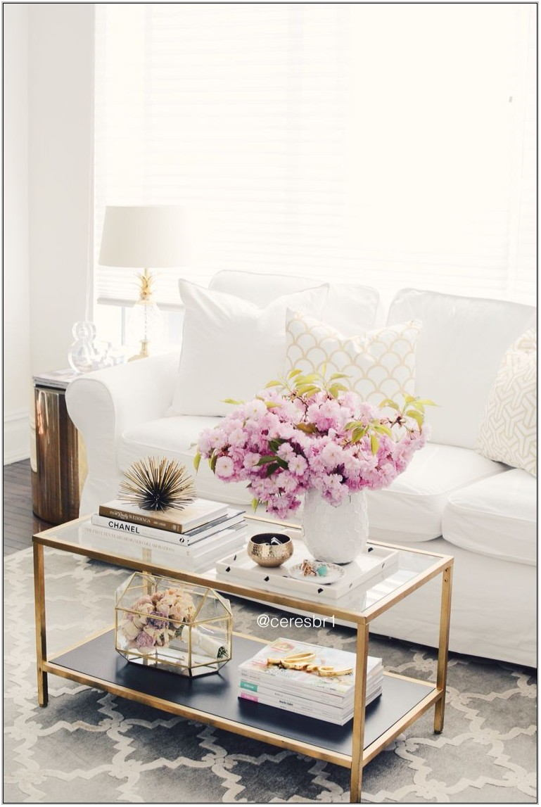 White Living Room Coffee Tables