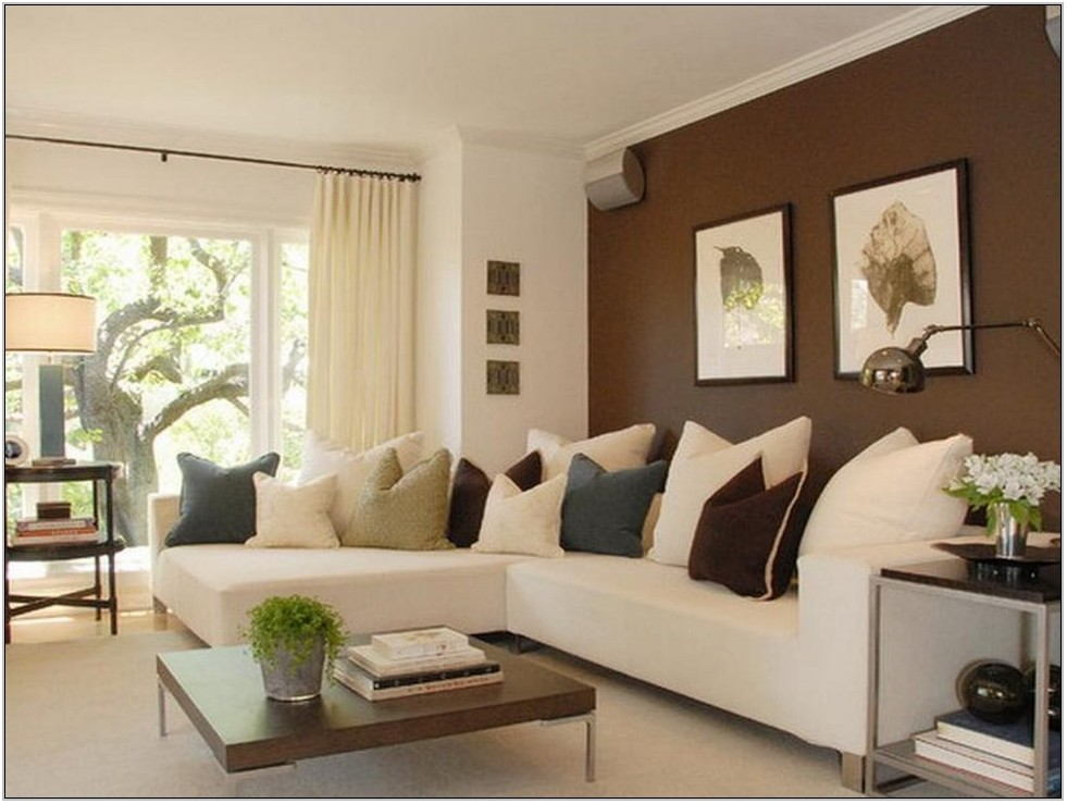 White Living Room Paint Ideas