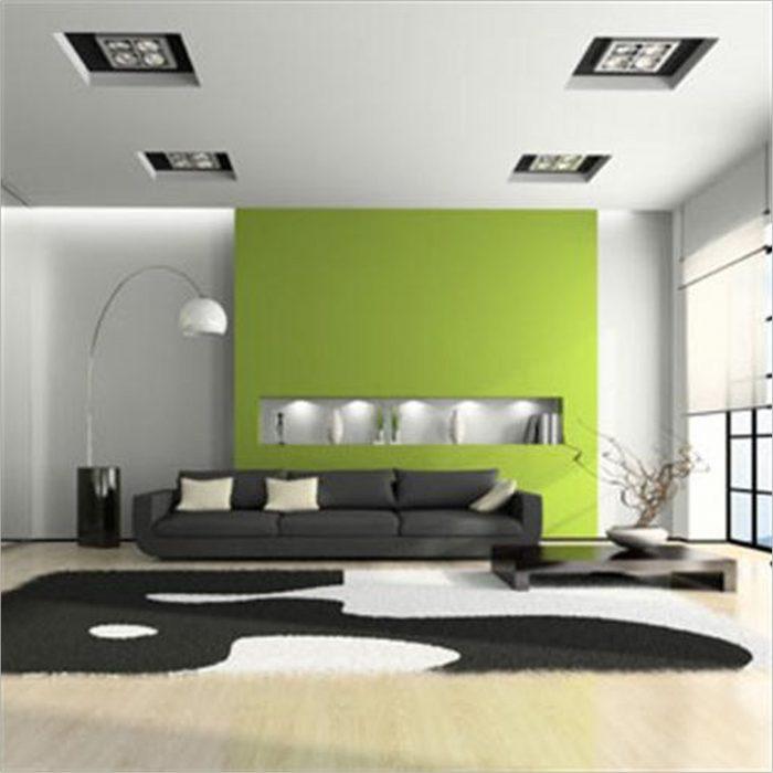 White Modern Living Room Table