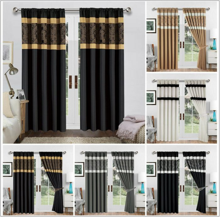Wide Living Room Curtains