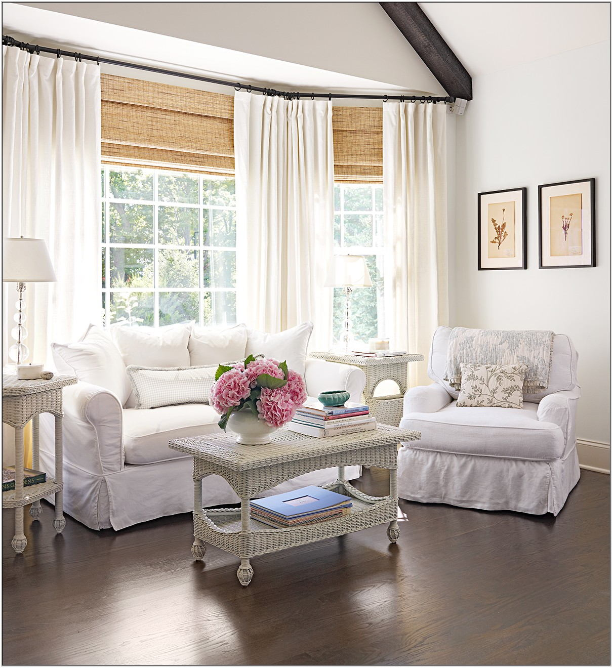 Window Covering Ideas For Living Room