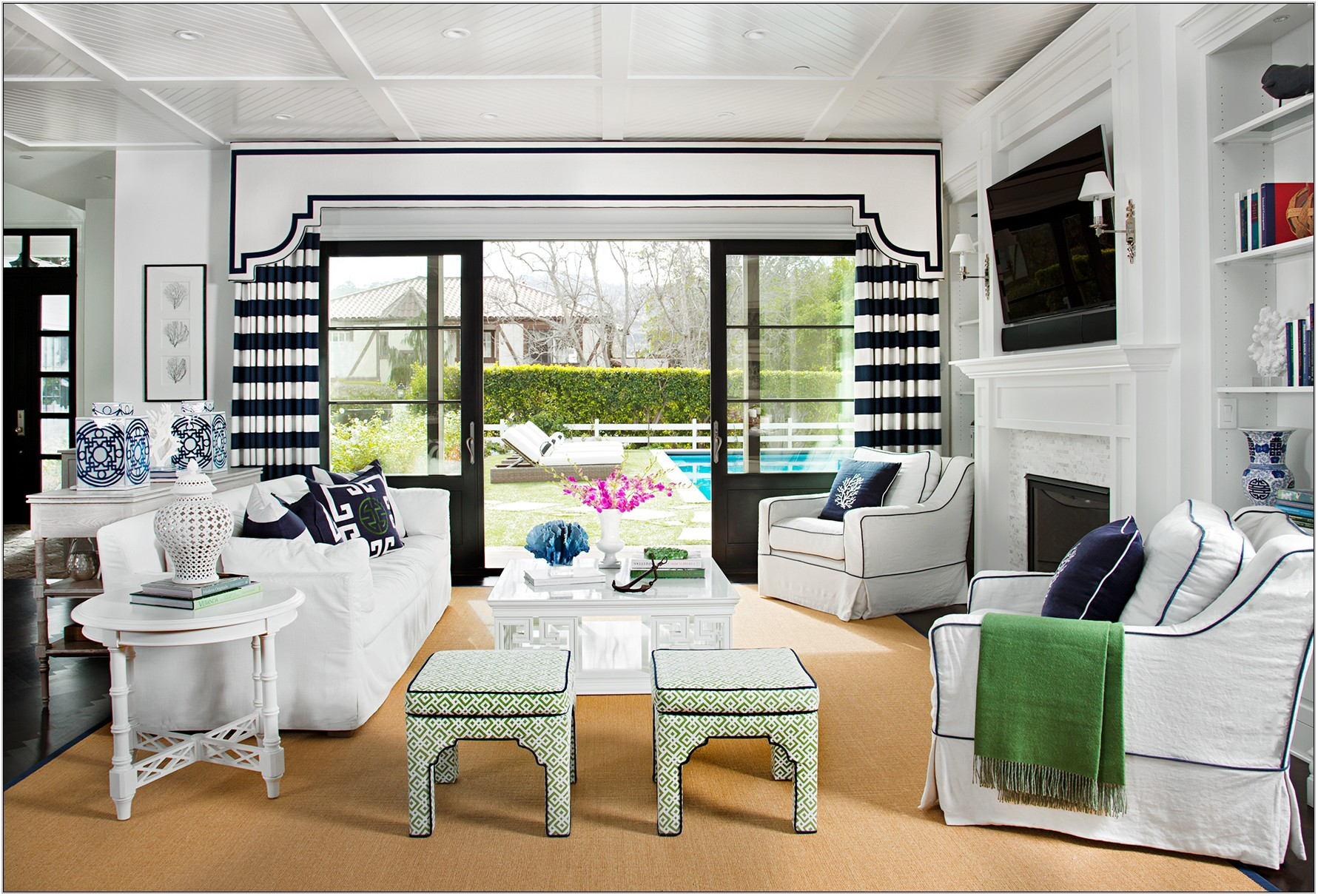 Window Treatment Ideas For Formal Living Room