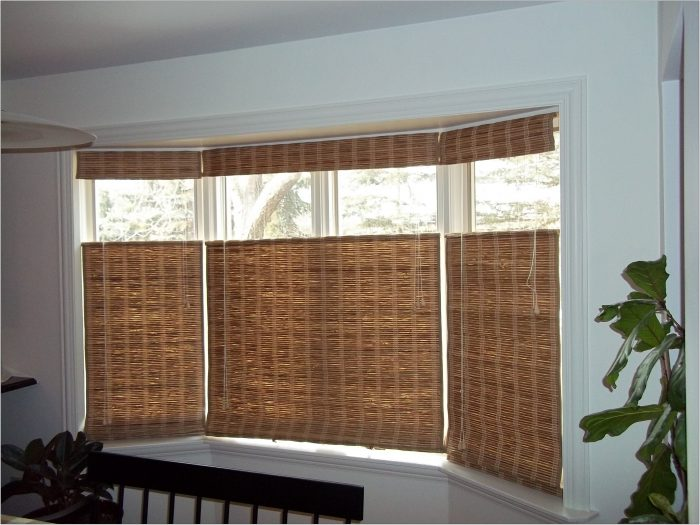 Window Treatments For Living Room Bay Window